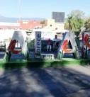 """Confirma denuncia el alcalde Hipolito por el robo de la """"X"""" al logo de Xalapa"""