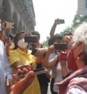 Reclama madre de desaparecidos a Alcalde de Xalapa eliminación de espacios para identificación