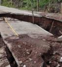 Reparará el Estado la carretera a Alto Lucero afectada por lluvias y deslaves
